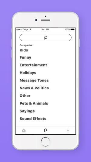 ZEDGE™ Ringtones Screenshot