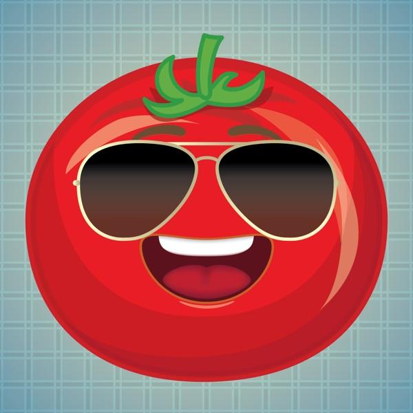 Sticker Me: Cool Tomato