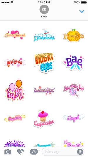 Honey Stickers Screenshot