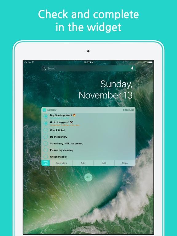 Noti:Do with Reminders Screenshot
