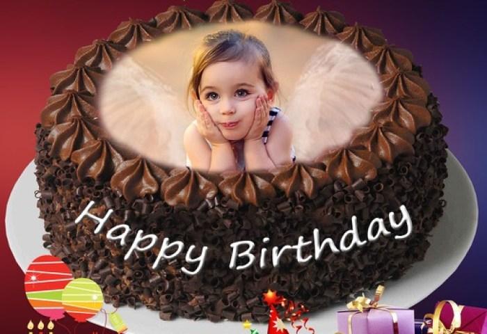 Name Photo On Birthday Cake By Harikrushna Sonani