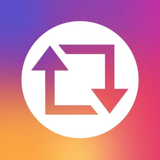 Instagramでリポスト - 写真&動画をリポスト