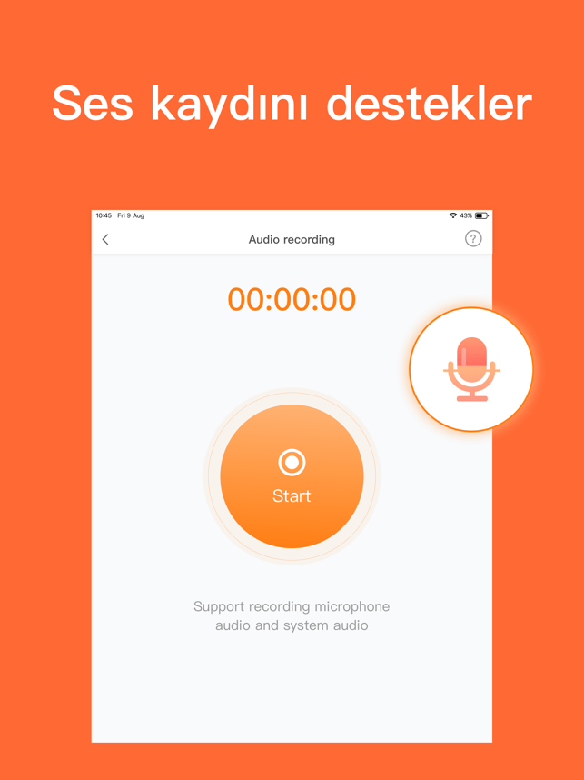 ‎DU Recorder: Ekran Kaydedicisi Screenshot