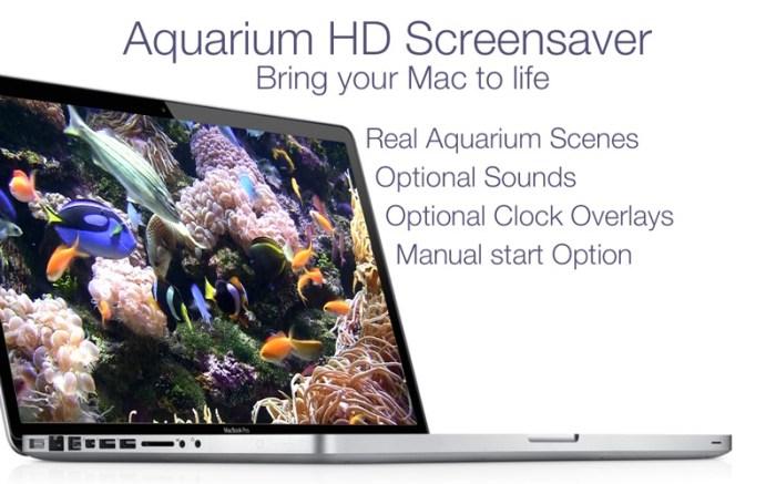 Aquarium Live HD+ Screensaver Screenshot 02 9wg6z1n