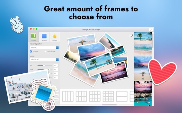 Design Your Collage Screenshot 01 13750in