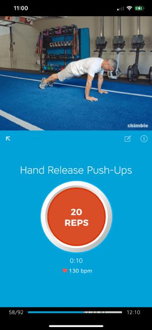 Workout Trainer: fitness coach Screenshot