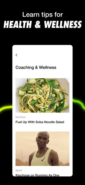 Nike Run Club: Running Coach Screenshot