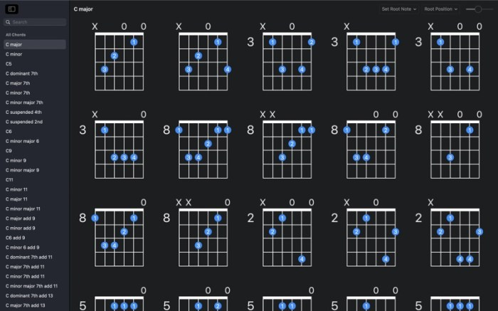 GtrLib Chords Pro Screenshot 01 13at2wn
