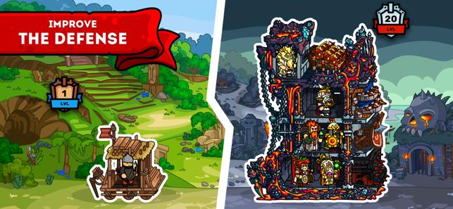 Towerlands: grow tower defence Screenshot
