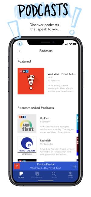 Pandora: Music & Podcasts Screenshot