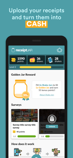 ReceiptJar Screenshot