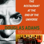 Douglas Adams - The Restaurant at the End of the Universe: The Hitchhiker's Guide to the Galaxy, Book 2 (Unabridged)  artwork