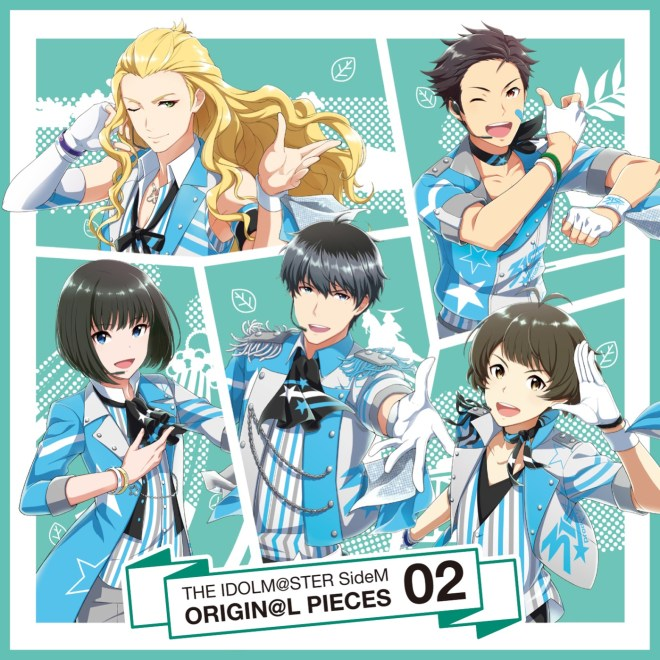 Various Artists - THE IDOLM@STER SideM ORIGIN@L PIECES 02 - EP