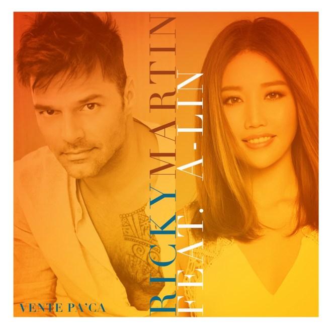 瑞奇·馬汀 - Vente Pa' Ca (feat. A-Lin) - Single
