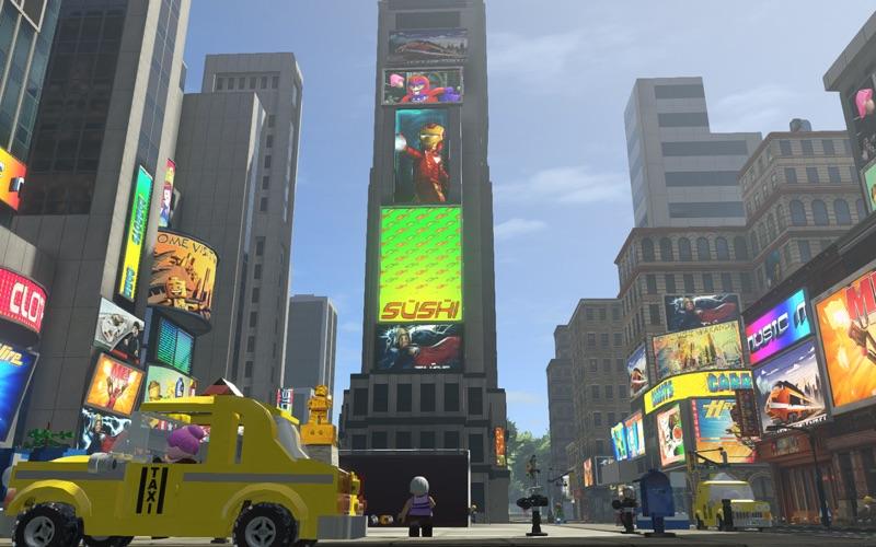 Screenshot do app LEGO Marvel Super Heroes