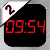 iDigital Big2 Alarm Clock - Biggest Time Display