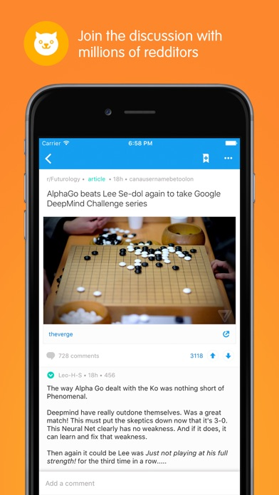 Reddit: Trending News & Tips Screenshot