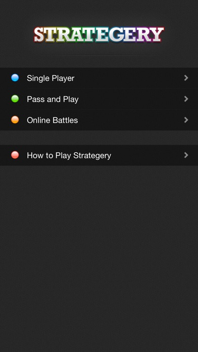 Strategery Screenshot