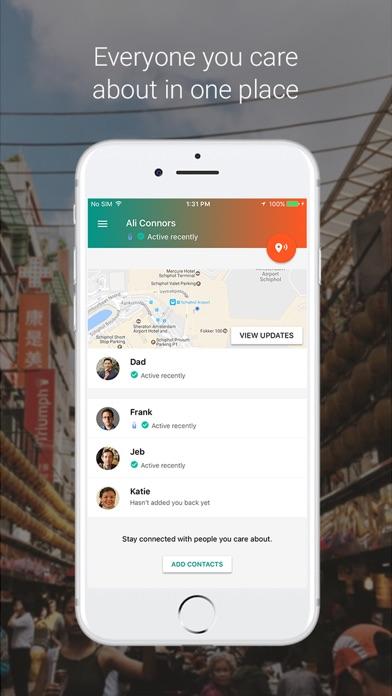 Contactos de confianza Screenshot