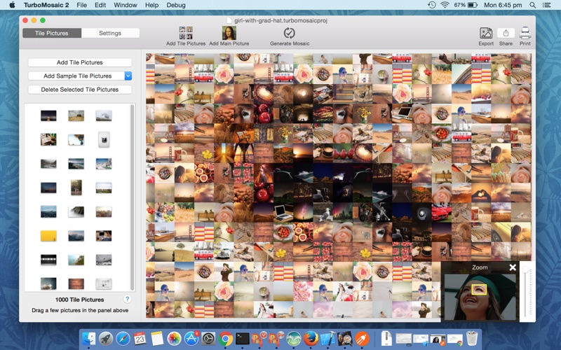 TurboMosaic Mac 破解版 马赛克图片制作工具-麦氪派(WaitsUn.com | 爱情守望者)