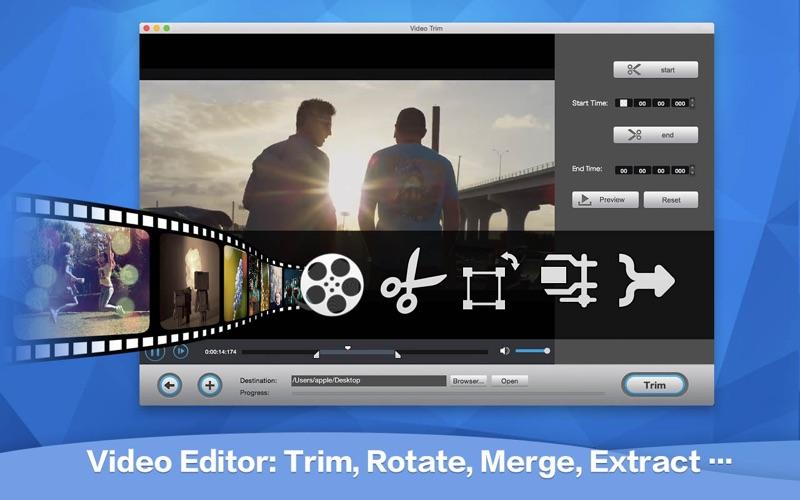 Total Video Tools for Mac 1.2.2 破解版 - 完美影音工厂格式转换和录屏