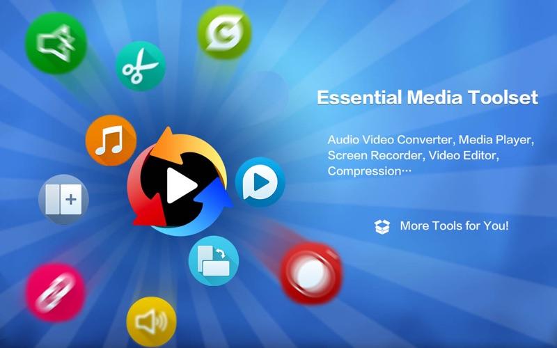 Total Video Tools for Mac 1.2.2 激活版 - 完美影音工厂格式转换和录屏