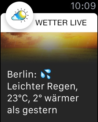 Wetter Live° Screenshot