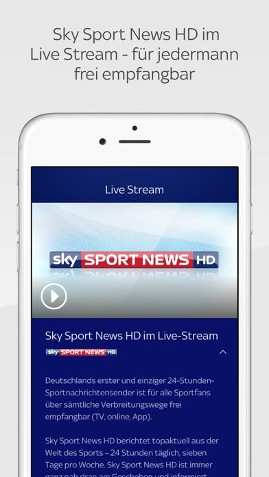 Sky Sport Screenshot