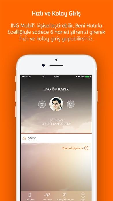 ING Mobil Screenshot