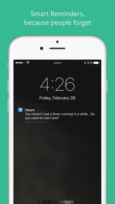 Hours - Zeiterfassung Screenshot