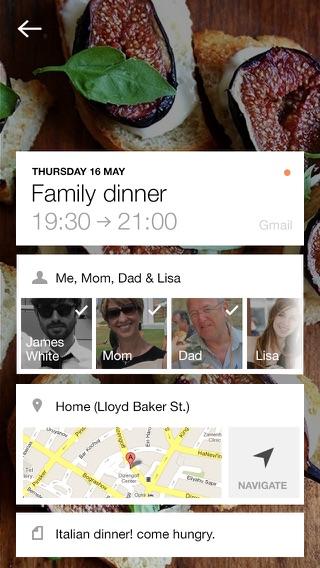 Cal – Kalender für Google, iCloud und für Exchange Screenshot