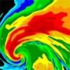 無料版お天気レーダー - 悪天候予報、雨量マップ、台風・サイクロントラッカー日本、そして世界向けに