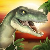 Jurassic Planet - Free Running Game for Kids who like T-Rex, Dinosaurs, Animals & Predators
