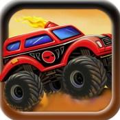 Monster Truck Hill Road Heroes: Free Car Racing Games