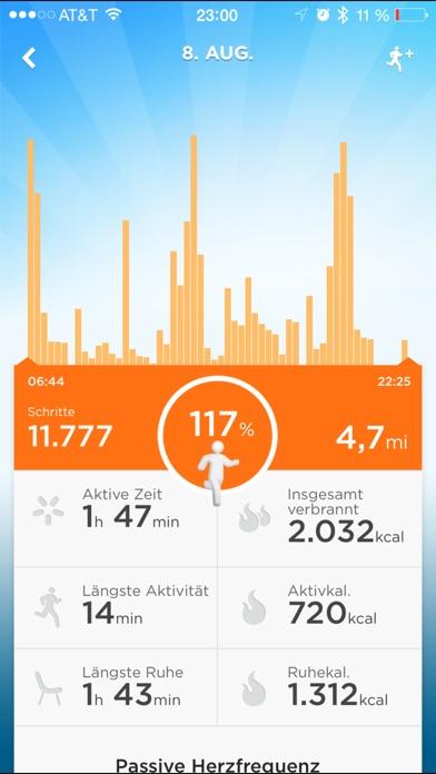 UP® –  Smart Coach für Gesundheit Screenshot