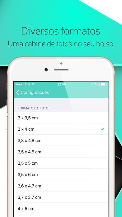 Screenshot do app Foto Documentos - Fotos 3x4, Fotos 5x7, Passaporte