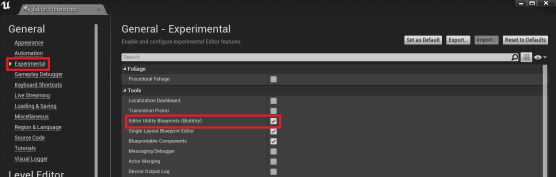 1. Setting up Editor Preferences.