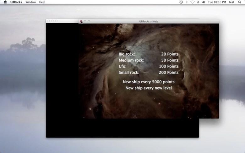 UBRocks Screenshot