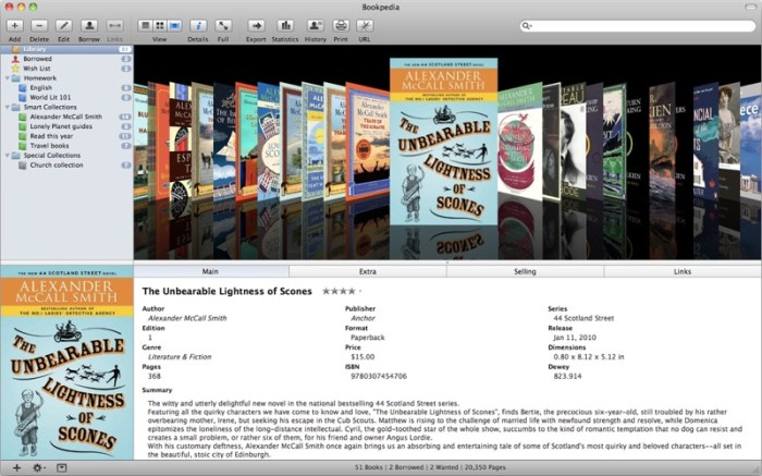 Bookpedia Screenshot 02 9omsern