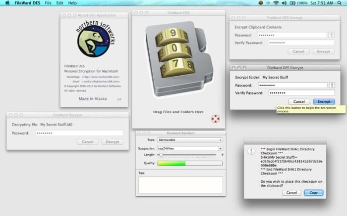 FileWard DES Screenshot 01 134sson