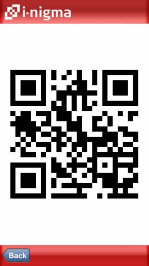 i-nigma QR Code, Data Matrix and 1D barcode reader Screenshot