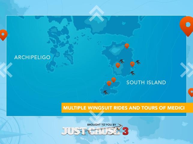 Just Cause 3: WingSuit Experience Screenshot