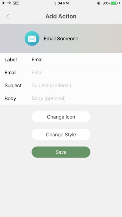 AirLaunch . Launcher on Today Widget Screenshot