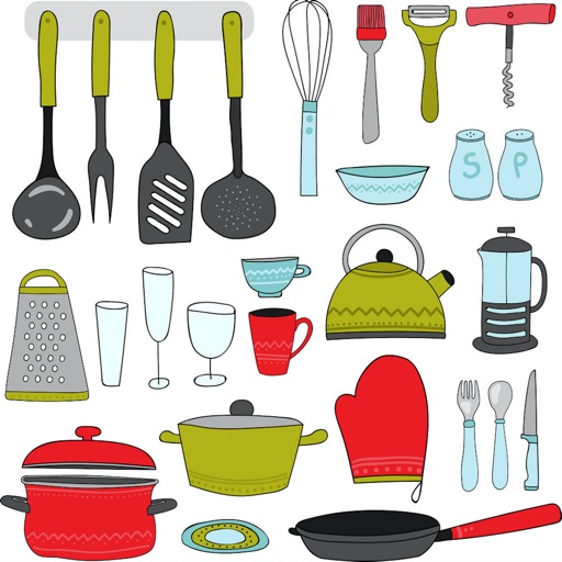 Names Of Kitchen Items By Roman Topolev