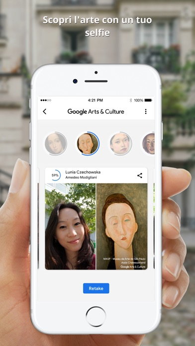 Google Arts & Culture iPhone