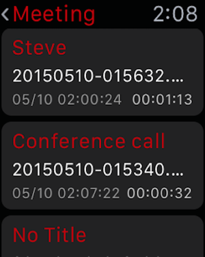 ボイスレコーダー - AVR PRO Screenshot