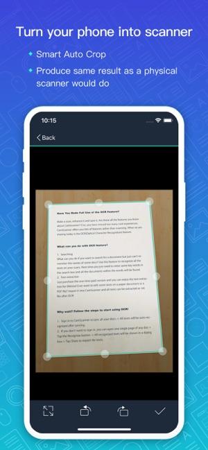CamScanner-Scanner to scan PDF Screenshot