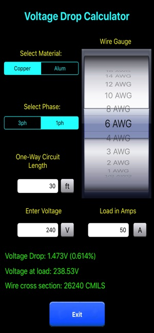 ‎Electric Toolkit  Calculator on the App Store