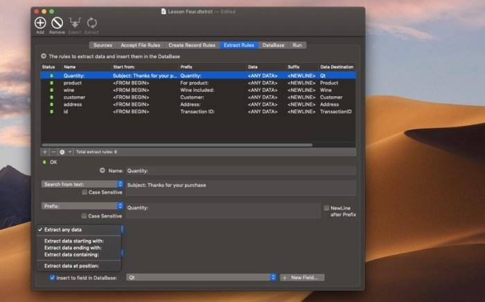 Data Extractor Screenshot 05 13at2wn
