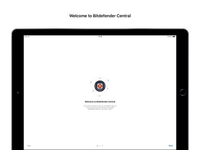 Bitdefender Central Capture d'écran